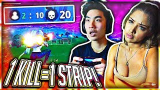 1 KILL = REMOVE 1 CLOTHING PIECE ( Mobile Fortnite Battle Royale ) #5 thumbnail