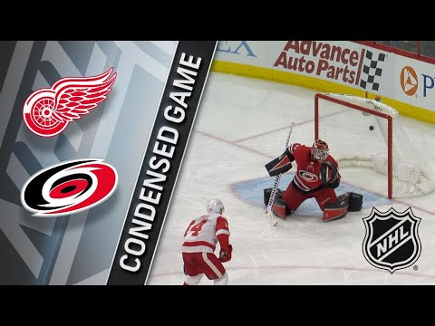 02/02/18 Condensed Game: Red Wings @ Hurricanes