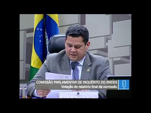 CPI do BNDES - Relatório - TV Senado - 20/03/2018