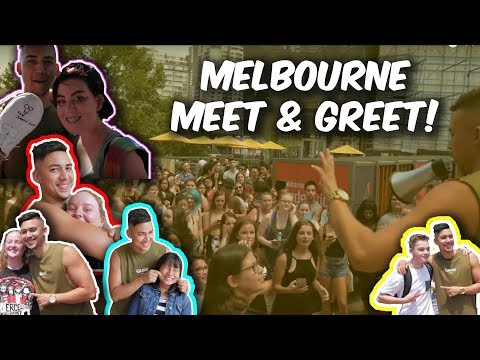 MELBOURNE MEET AND GREET!