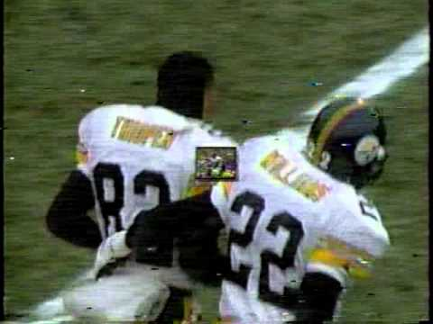 Yancey Thigpen and the Steelers gift to Green Bay, Christmas Eve 1995