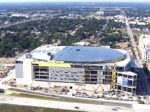 Amway Center time-lapse ( Updated )