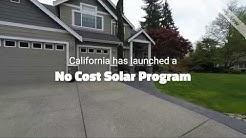 California Launches No Cost Solar Program 1