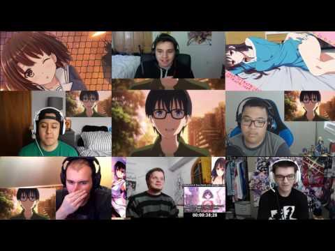 Reaction Saenai Heroine no Sodatekata ♭ Episode 11 Final