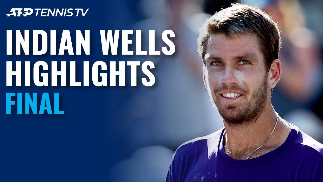 Cameron Norrie vs Nikoloz Basilashvili | Indian Wells 2021 Final Highlights