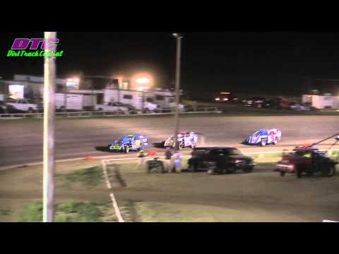IMCA Modified A Feature Wakeeney Speedway 5 25 14