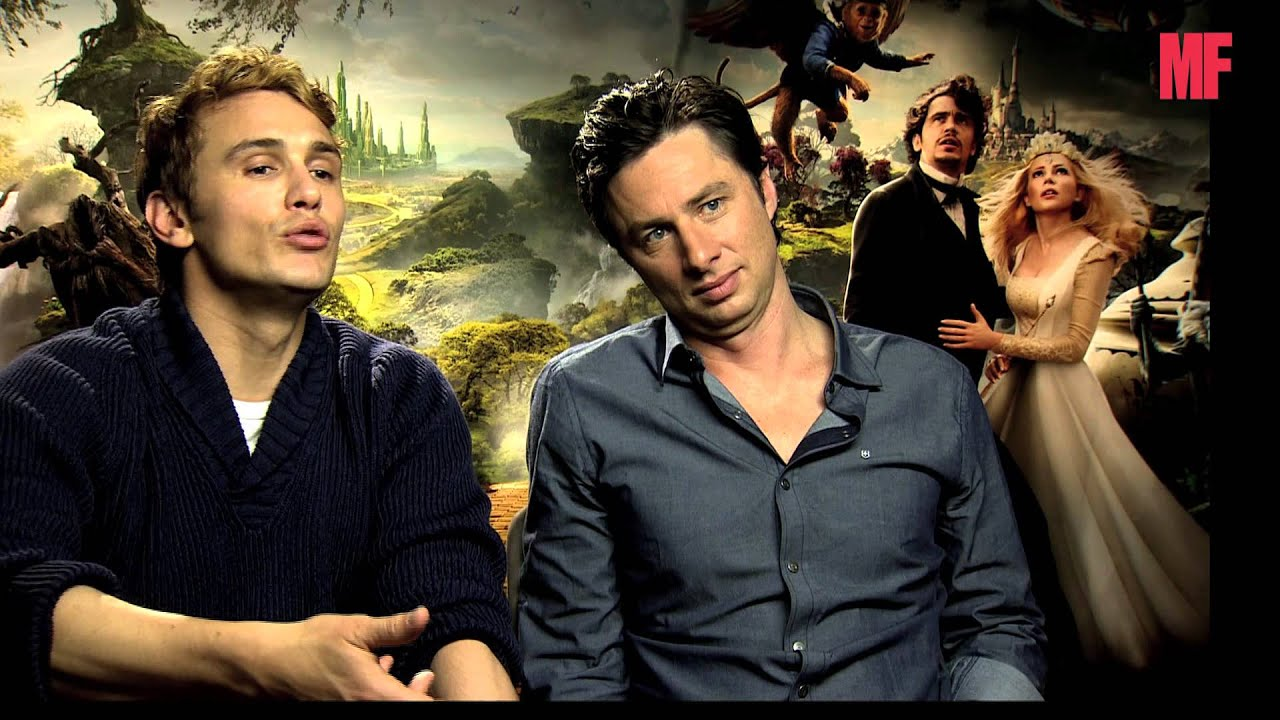 Oz The Great And Powerful Men's Fitness UK cast interview ...Oz The Great And Powerful Cast