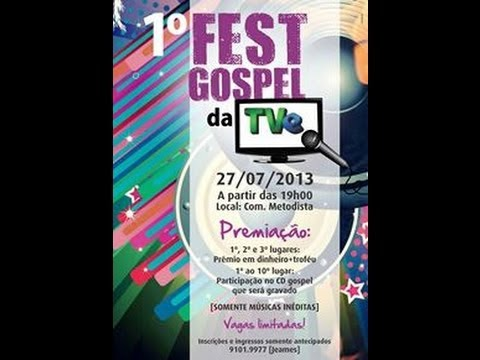 Os Vencedores do 1º Fast Gospel da TVE