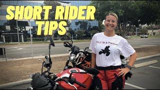 Advice For Short Motorcycle Riders ~ MotoJitsu