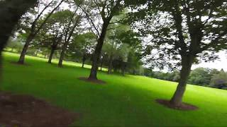 Sketchy flying at the golf course / Видео
