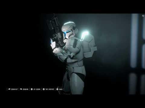 Star Wars Clone Commando Gameplay - Battlefront and Republic Commando! |