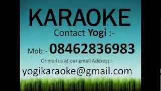 Chand chupa badal mein karaoke track
