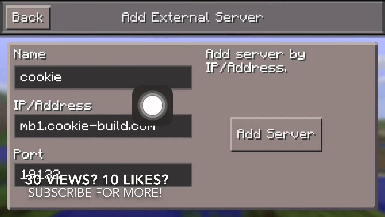 как создать свой сервер в майнкрафт пе 0.14.0 на ipad #11