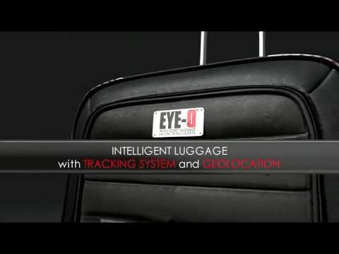 INTELLIGENT LUGGAGE WITH TRACKING SYSTEM & GEOLOCATION