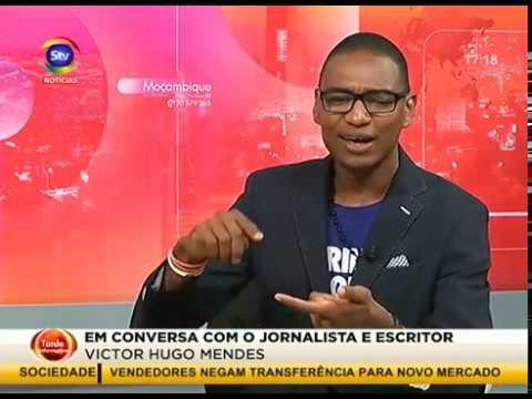 Victor Hugo Mendes na STV Maputo