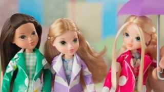 Moxie Girlz Raincoat Color Splash Commercial