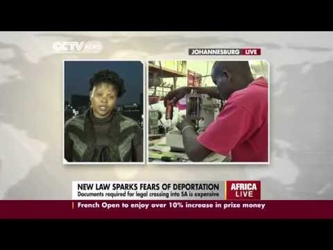 An interview with Aline Mugisho on South Africa's immigration laws