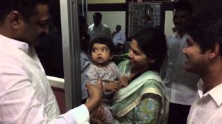 Aadya playing with Bhuma NagiReddy and Akhilapriya