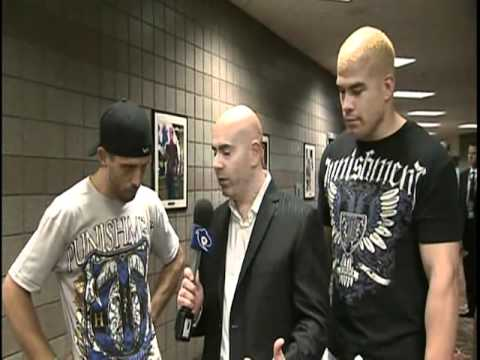 UFC 132 Ortiz vs Bader : Interview