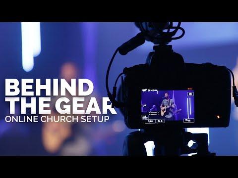 ONLINE CHURCH SETUP | Behind The Gear
