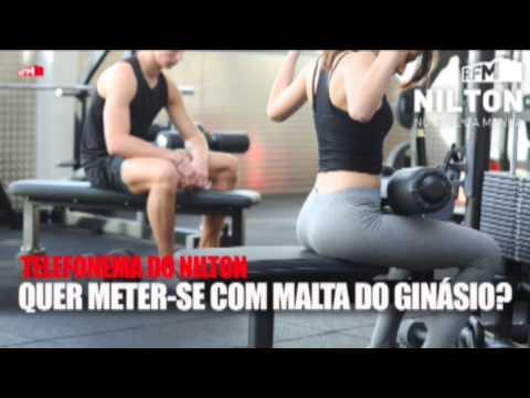 Nilton - Telefonema - quer meter-se com a malta do ginásio -17-11