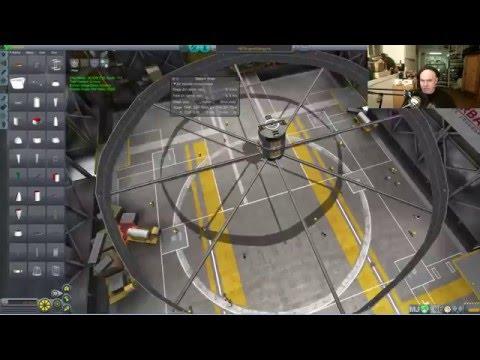 Kerbal Artificial Gravity Ring - Livestream