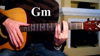 Пикник - Кукла с человеческим лицом Тональность ( Gm ) Как играть на гитаре песню
