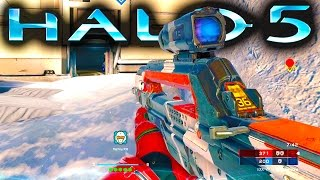 HALO 5 GAMEPLAY | Warzone on March on Stormbreak (Halo 5 Guardians Gameplay)