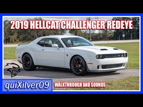2019 Dodge Challenger Redeye Widebody in White Knuckle w/Demonic Red Interior!