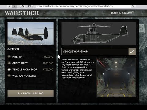 GTA 5 - The Doomsday Heist DLC (NEW FLYING MOC Customization!!) HVY Avenger