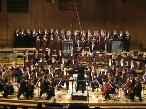 """PIOTR BORKOWSKI conducts MARIAN BORKOWSKI - """"DE PROFUNDIS"""" part 1, PODLASIE PHILHARMONIC ORCHESTRA"""