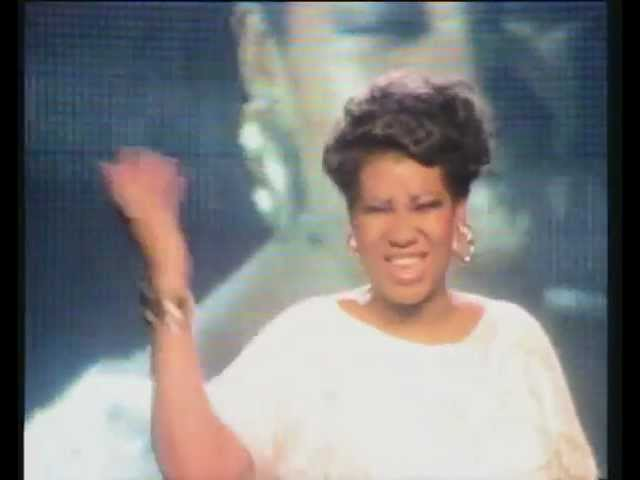 Aretha Franklin & George Michael - I Knew You Were Waiting (For Me) (Official Video)