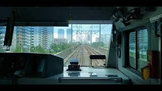 JR外房.京葉線 快速 東京行き 蘇我~終点東京間[前面展望Part2]