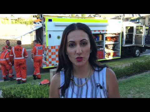 Sydney residents thank NSW SES volunteers