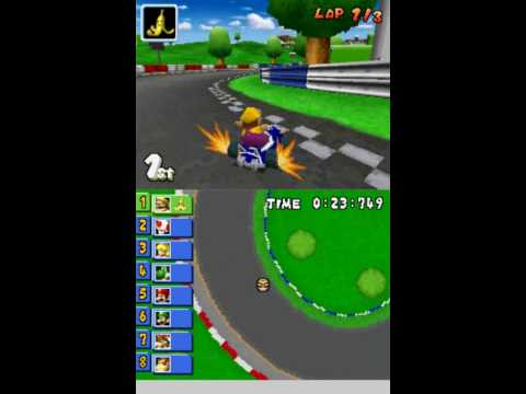 mario kart ds beta yoshi and wario karts youtube. Black Bedroom Furniture Sets. Home Design Ideas