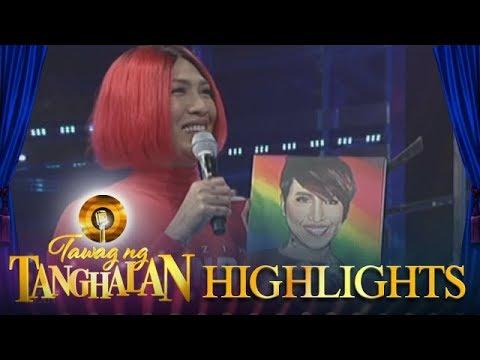 Tawag ng Tanghalan: Daily contender Anne gives a painting to Vice