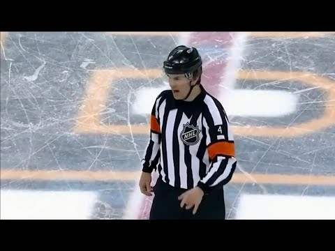 The best of Wes McCauley, most dramatic ref in the NHL