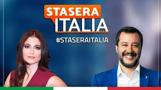 MATTEO SALVINI A STASERA ITALIA WEEKEND (RETE 4, 30.05.2021)