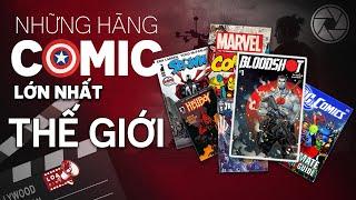 Marvel, DC và những hãng truyện tranh lớn nhất thế giới! | LOA CINE