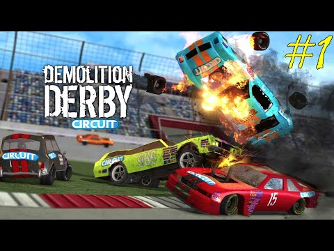 Demolition Derby.Машины на Соревнованиях.Игры и мультики про машинки.Играем в Машинки.#Cargames