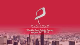 Weekly Real Estate Investment News - Week of August 8 2016