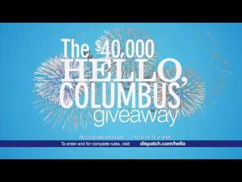 Columbus Dispatch $40,000 giveaway