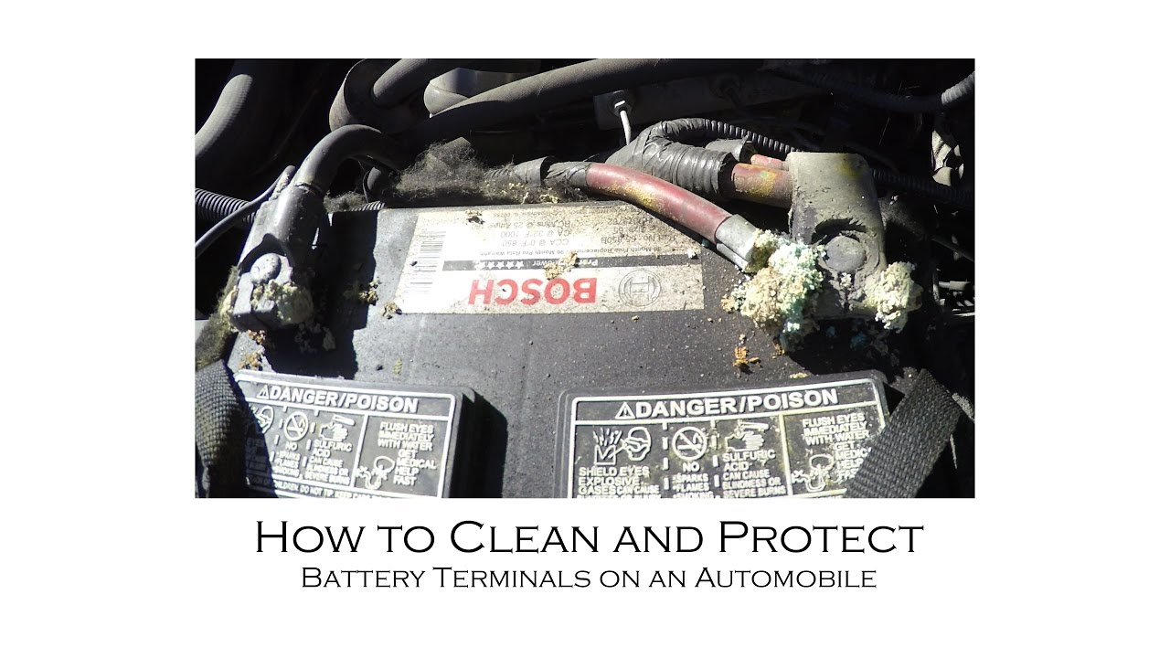 How To Clean And Protect Battery Terminals With Baking Soda And How