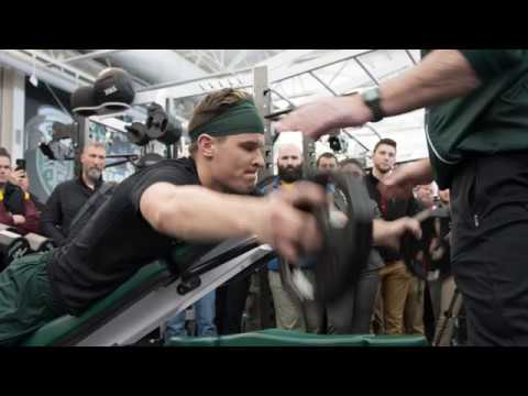 Michigan State Strength: Ken Mannie Shoulder Matrix Training