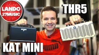 Boss Katana Mini VS Yamaha THR - Which One I'm keeping and Why!