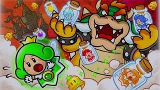 Super Mario 3D World Walkthrough World 6 - All Green Stars & Stamps