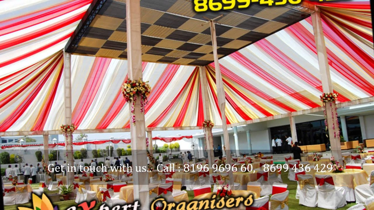 Tent Decoration Services Chandigarh Wedding Decorators Chandigarh Mohali Panchkula Ropar