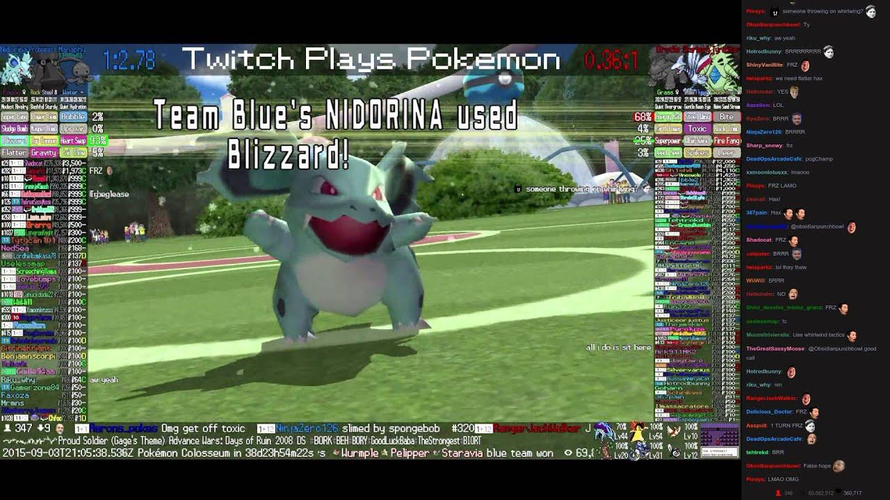 Twitch Plays Pokémon Battle Revolution - Match #22614 ...