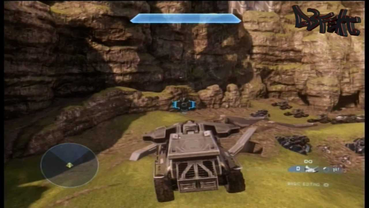 Halo 4 mod - flying tankhog - YouTube