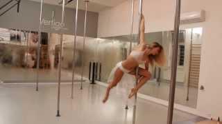 Růženka Halamková přihlašovací video na Pole Stars 2013 DLE